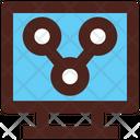 Share Sharing Monitor Icon