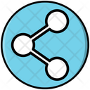 Share Network Media Icon