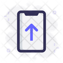Mobile Share Upload Icon