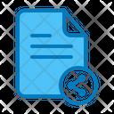 Share File Publish Icon