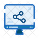 Website Share Connections Icon