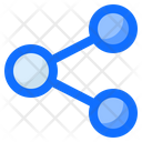 Share Connect Links Icon