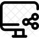 Share Computer Screen Icon