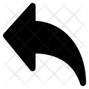 Share Arrow Back Icon