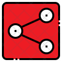 Share Network Internet Icon