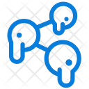 Melting Share Link Icon