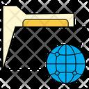 Share Folder Globe Icon