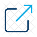 Share Data Transfer Data Share Content Share Sigm Icon