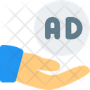 Share Advertising Share Ads Smartphone Icon