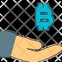Share Bitcoin Icon