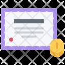 Share Bond Paper Icon