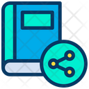 Share Book Icon