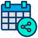 Share Find Calender Icon