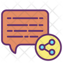 Share Chat Icon
