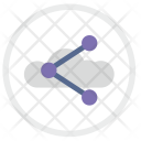Cloud Technology Url Icon
