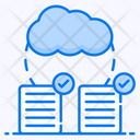 Share Cloud Share Document Data Sharing Icon