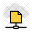 Share Cloud File Icon