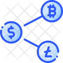 Share Cryptocurrency Icon