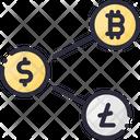 Share Coin Crypto Icon