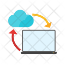 Data Share Computing Icon
