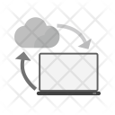 Data Share Cloud Icon