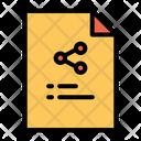 Share Transfer Share Data Icon