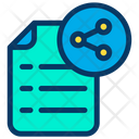Share Sharing Document Icon
