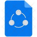 Share Share File Share Document Icon