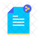 Share File Document File Icon