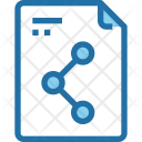 File Sharing Document Icon