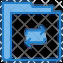 Data Tarnsfer Transaction Folder Share Folder Icon