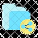 Share Share Folder Share File Folder Icon