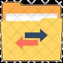 Share Folder Folder Transferring Folder Exchange Icon