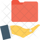 Share Folder Hand Icon