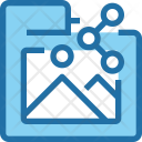 Folder Sharing Share Icon
