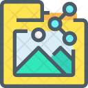Folder Sharing Image Icon