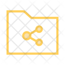 Folder Share Files Icon