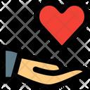 Share Heart Icon