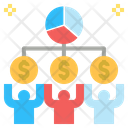 Shareholder Partnership Investor Icon