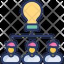 Share Idea Competitive Research Transfer Icon