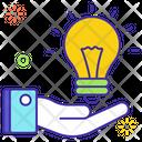 Idea Share Creative Idea Innovative Idea Icon