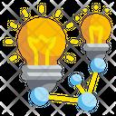 Share Idea Bulb Network Icon