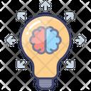 Share Ideas Brainstorming Inspiration Icon