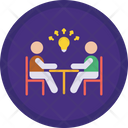 Share Ideas Business Meeting Meeting Icon