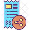 Share Invoice Icon