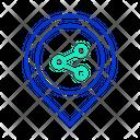 Share Location Location Network Location Icon
