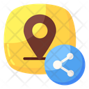 Share Location Share Direction Share Gps Icon