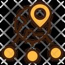 Share Location Location Route Icon