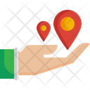Share Hand Placehoder Icon