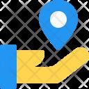 Share Location Pin Icon